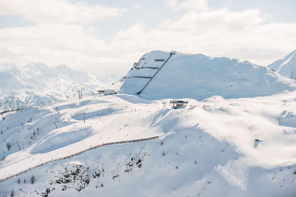 Die Bergstationen vom Skigebiet Zauchensee